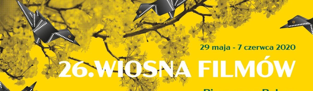 26. Festiwal Filmowy Wiosna Filmów ONLINE