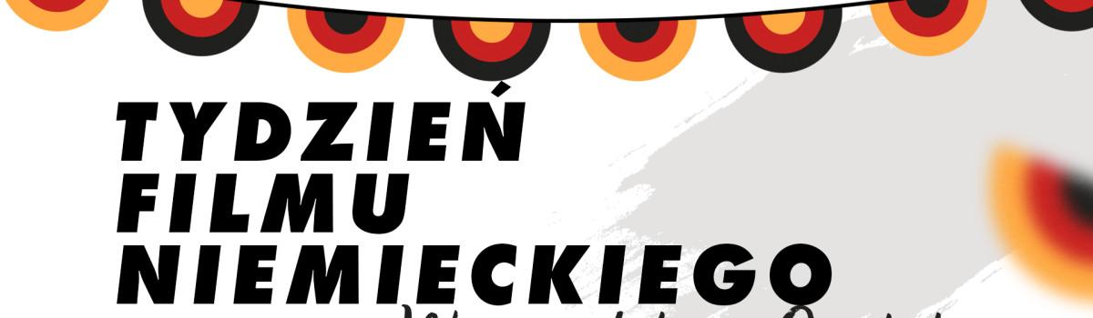 Tydzień Filmu Niemieckiego w Województwie Opolskim 23-29.11.2020