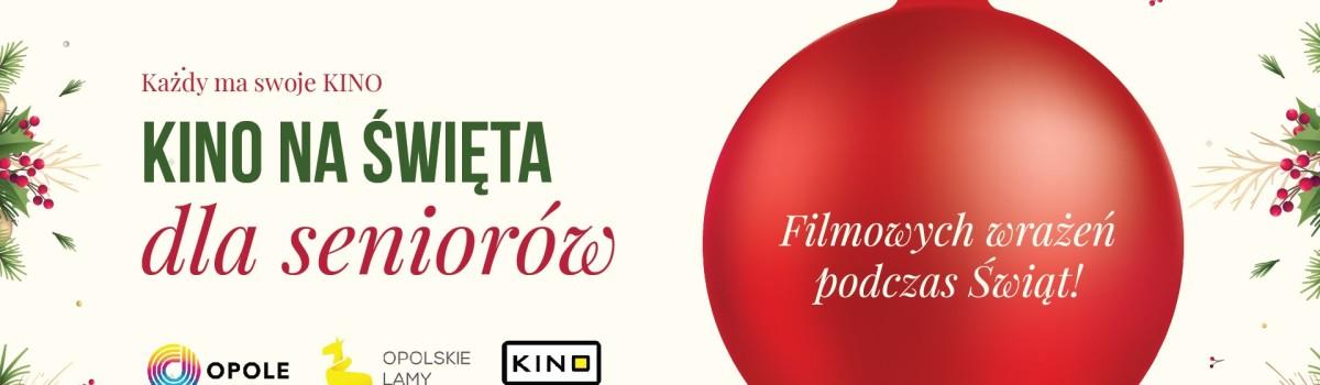 Każdy ma swoje KINO – Kino na Święta dla Seniorów